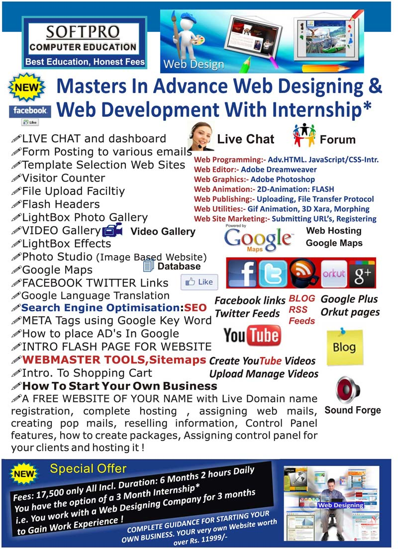 Web Designing Courses Website Designing Training Institute Web Designing Institute